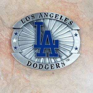 Los Angeles Dodgers belt buckle